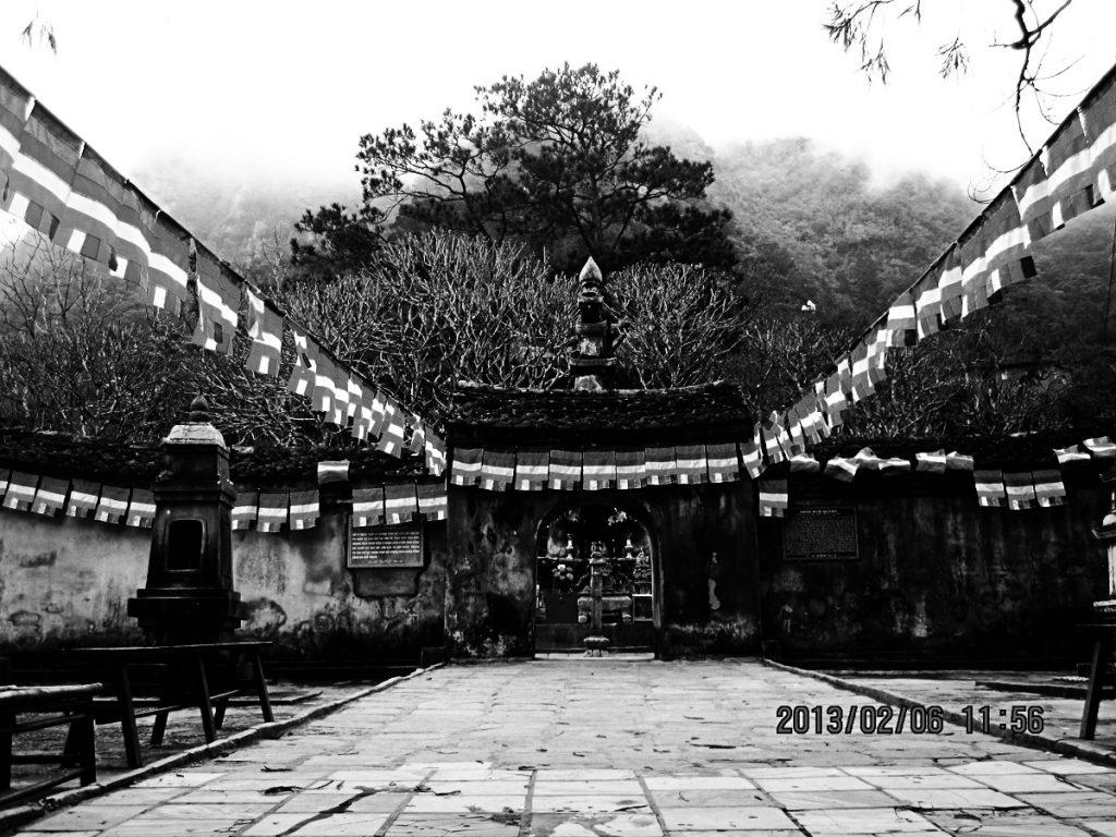 Tháp cổ Yên Tử