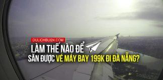 cách săn vé máy bay giá rẻ đi đà nẵng