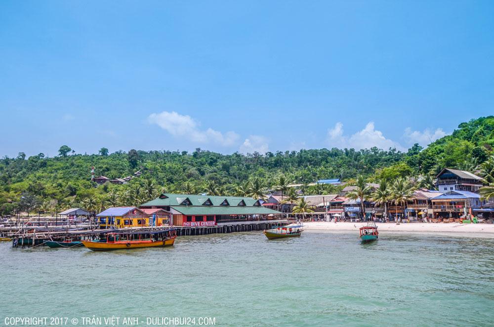 kinh nghiệm du lịch đảo koh rong sihanoukville tự túc