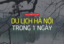 Du lịch Hà Nội trong 1 ngày