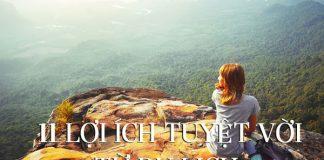11 lợi ích tuyệt vời mà du lịch đem lại cho bạn