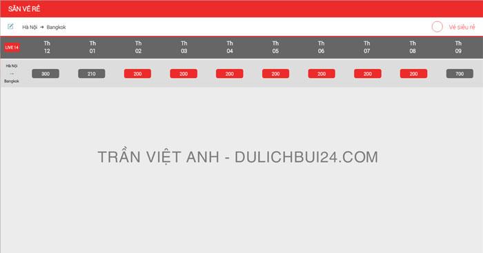 kinh nghiệm săn vé máy bay giá rẻ đi bangkok