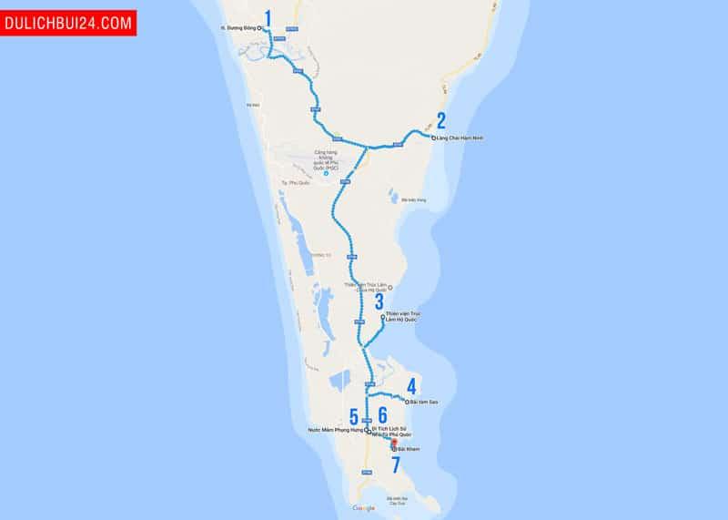 các địa điểm du lịch phú quốc phía nam