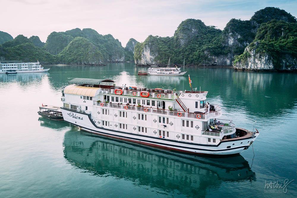 du thuyền vịnh hạ long paloma