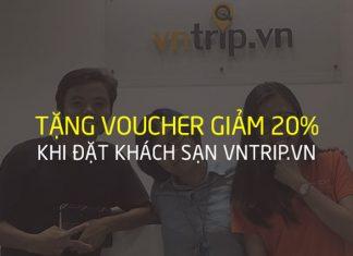 Tặng voucher giảm giá vntrip.vn