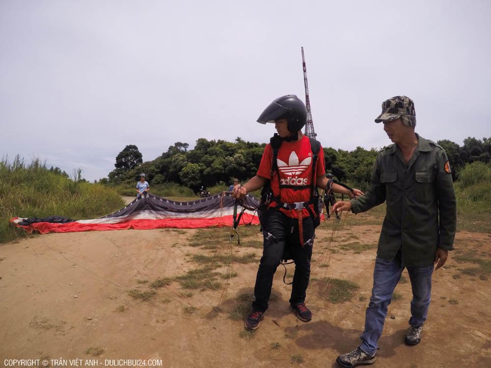 Nhảy dù lượn ở Đà Nẵng