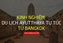 kinh nghiệm du lịch ayutthaya
