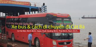 Xe bus đi cát bà