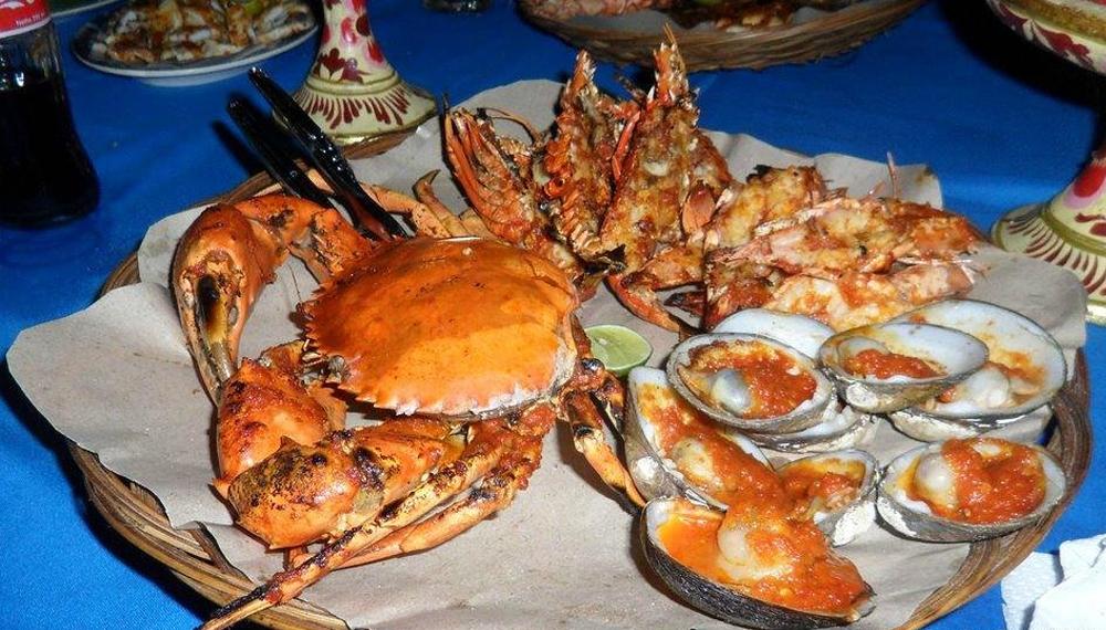 Hải sản ở Bali