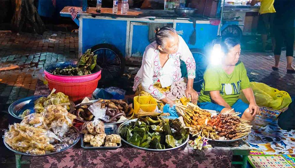Quán ăn vỉa hè Denpasar