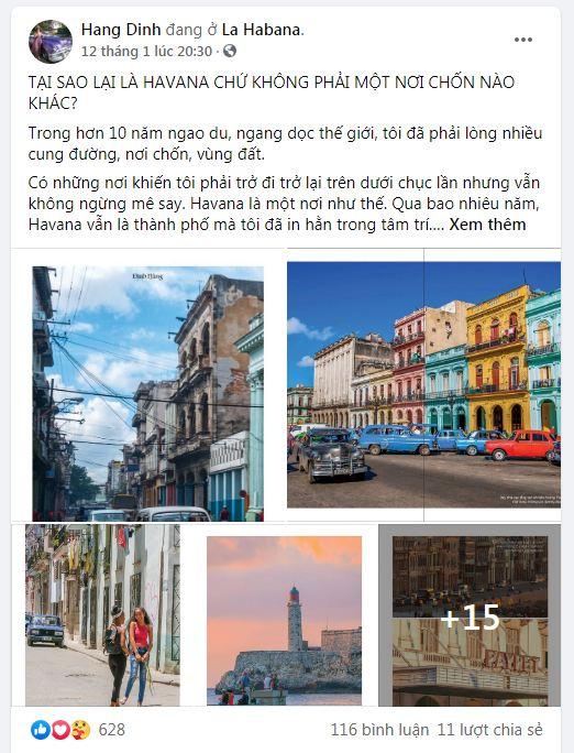 Chia sẻ của travel blogger Đinh Hằng