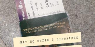 mất hộ chiếu -Singapore